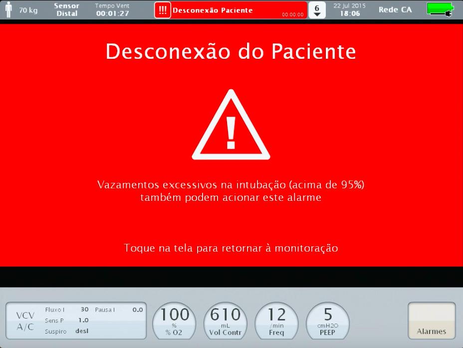 Alarme Ventilador iX5