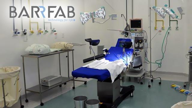Mesa e Foco Cirúrgico Barrfab